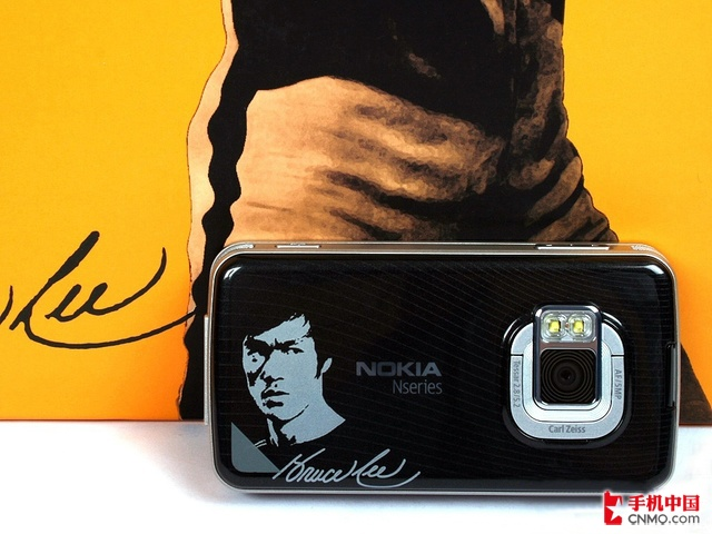 诺基亚N96(李小龙版)